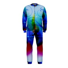 Abstract Color Plants OnePiece Jumpsuit (Kids)