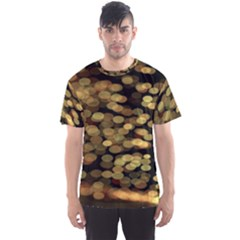 Blurry Sparks Men s Sports Mesh Tee