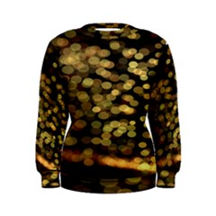 Blurry Sparks Women s Sweatshirt
