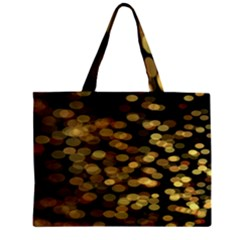 Blurry Sparks Zipper Mini Tote Bag