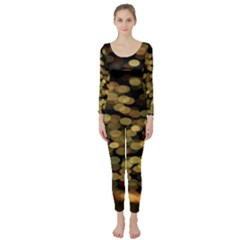 Blurry Sparks Long Sleeve Catsuit