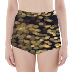 Blurry Sparks High Waisted Bikini Bottoms