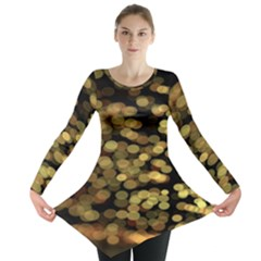 Blurry Sparks Long Sleeve Tunic