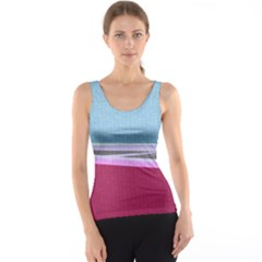 Cracked Tile Tank Top