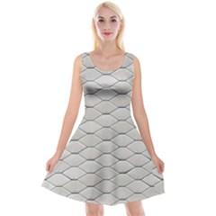 Roof Texture Reversible Velvet Sleeveless Dress