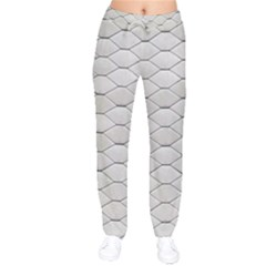 Roof Texture Drawstring Pants