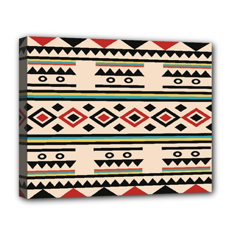 Tribal Pattern Deluxe Canvas 20  X 16