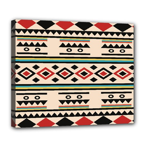 Tribal Pattern Deluxe Canvas 24  x 20