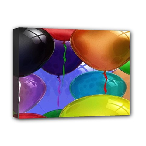 Colorful Balloons Render Deluxe Canvas 16  X 12
