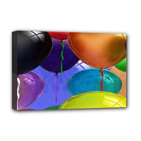 Colorful Balloons Render Deluxe Canvas 18  X 12