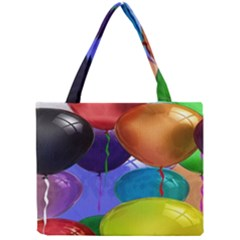 Colorful Balloons Render Mini Tote Bag