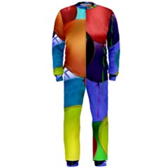 Colorful Balloons Render OnePiece Jumpsuit (Men)