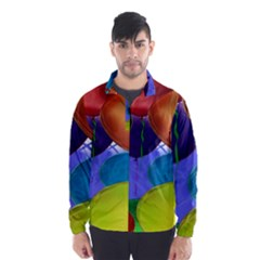 Colorful Balloons Render Wind Breaker (Men)