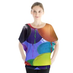 Colorful Balloons Render Blouse