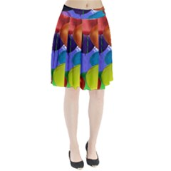 Colorful Balloons Render Pleated Skirt