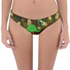 Hiding Paradise Reversible Hipster Bikini Bottoms
