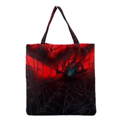 Spider Webs Grocery Tote Bag