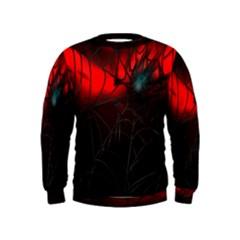 Spider Webs Kids  Sweatshirt