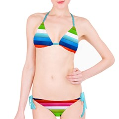 Colorful Plasticine Bikini Set