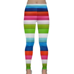 Colorful Plasticine Classic Yoga Leggings
