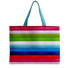 Colorful Plasticine Zipper Mini Tote Bag