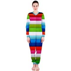 Colorful Plasticine OnePiece Jumpsuit (Ladies)