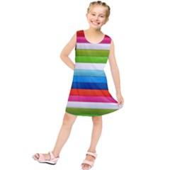 Colorful Plasticine Kids  Tunic Dress
