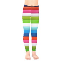 Colorful Plasticine Kids  Legging