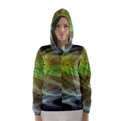 Yellow Smoke Hooded Wind Breaker (Women)