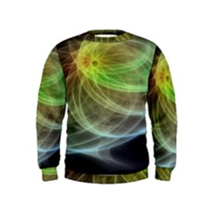 Yellow Smoke Kids  Sweatshirt