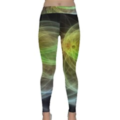 Yellow Smoke Classic Yoga Leggings