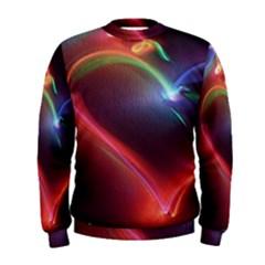 Neon Heart Men s Sweatshirt