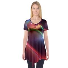 Neon Heart Short Sleeve Tunic