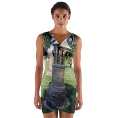 Headstone Pettigrew Wrap Front Bodycon Dress
