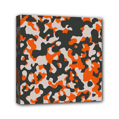 Camouflage Texture Patterns Mini Canvas 6  X 6