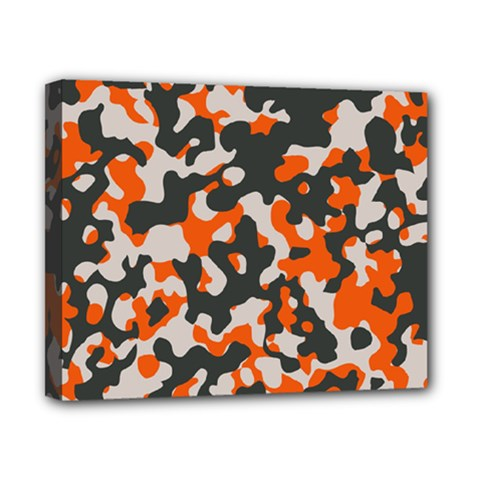 Camouflage Texture Patterns Canvas 10  x 8