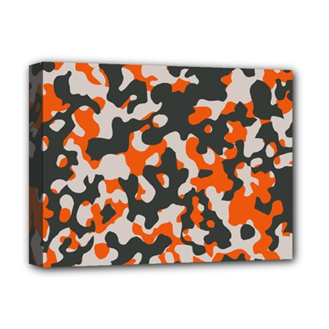 Camouflage Texture Patterns Deluxe Canvas 16  x 12