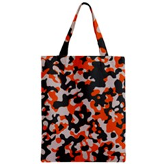 Camouflage Texture Patterns Zipper Classic Tote Bag