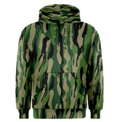 Green Military Vector Pattern Texture Men s Pullover Hoodie