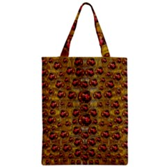 Angels In Gold And Flowers Of Paradise Rocks Classic Tote Bag
