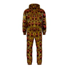 Angels In Gold And Flowers Of Paradise Rocks Hooded Jumpsuit (Kids)