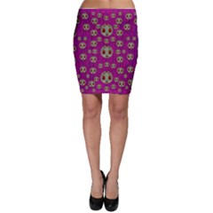 Ladybug In The Forest Of Fantasy Bodycon Skirt