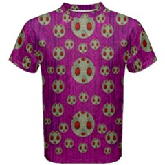 Ladybug In The Forest Of Fantasy Men s Cotton Tee