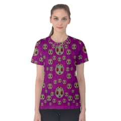 Ladybug In The Forest Of Fantasy Women s Cotton Tee