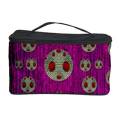 Ladybug In The Forest Of Fantasy Cosmetic Storage Case
