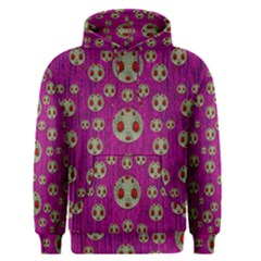 Ladybug In The Forest Of Fantasy Men s Pullover Hoodie