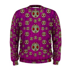 Ladybug In The Forest Of Fantasy Men s Sweatshirt