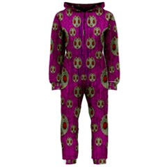 Ladybug In The Forest Of Fantasy Hooded Jumpsuit (Ladies)