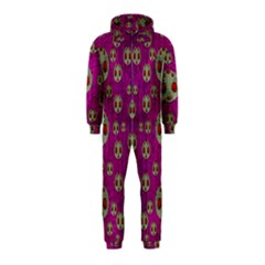 Ladybug In The Forest Of Fantasy Hooded Jumpsuit (Kids)