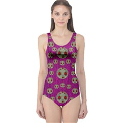 Ladybug In The Forest Of Fantasy One Piece Swimsuit